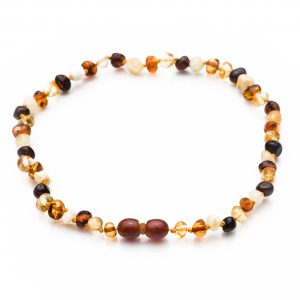 amber teething necklace mix