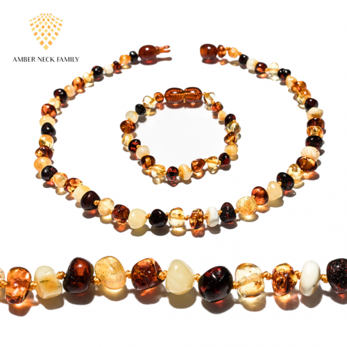 amber teething set